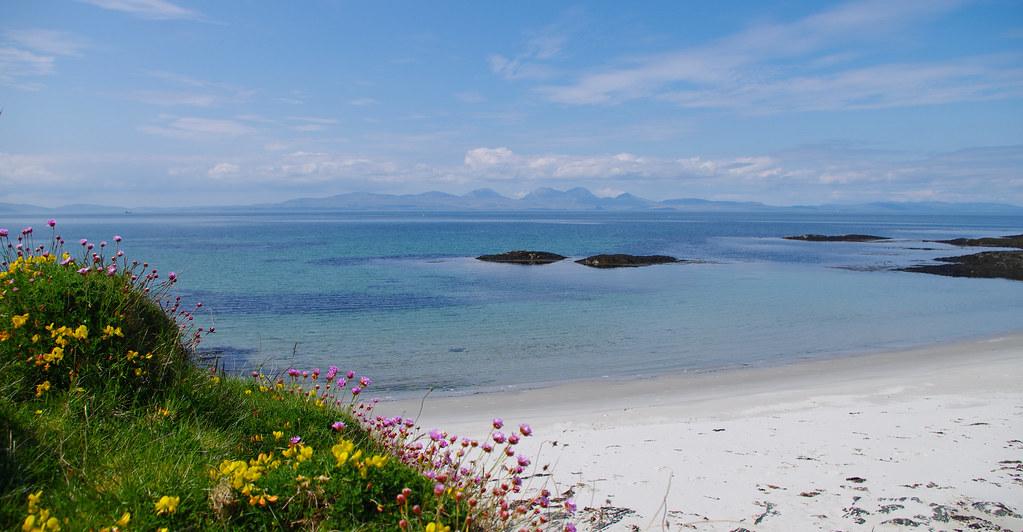 Beach at Gigha
